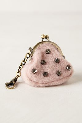 Jeweled Tundra Keychain Purse