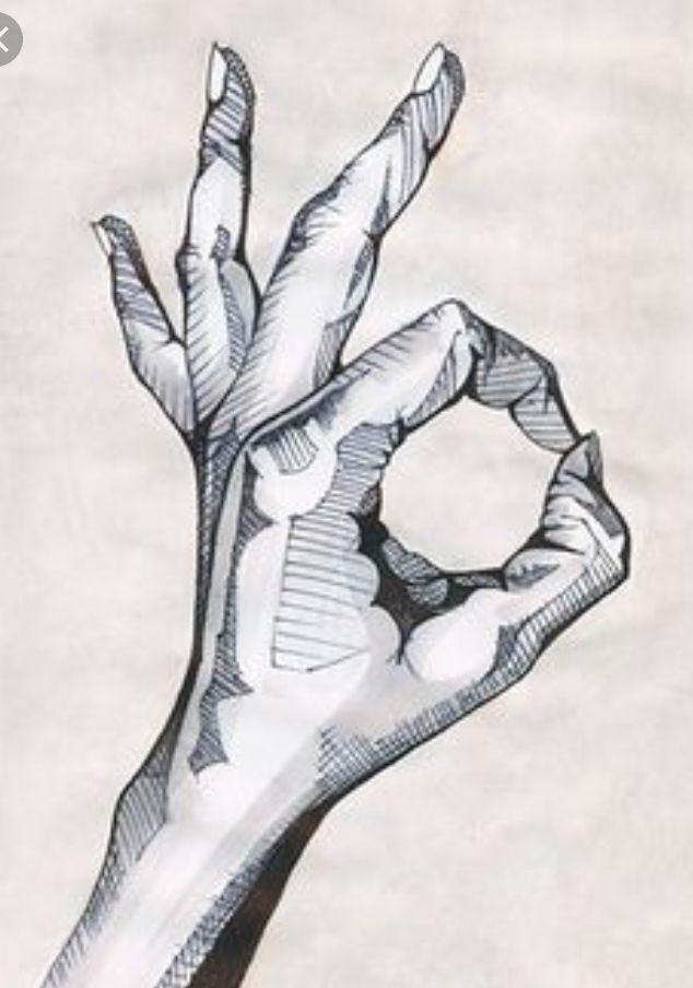 creative hand drawings - 634×904