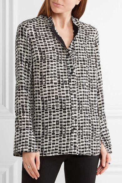 Proenze Schouler Printed chiffon blouse $715