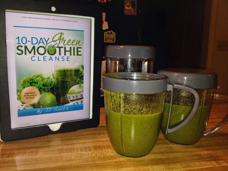 10 Day Green Smoothie Cleanse by JJ Smith Book Review - Wife On The Run