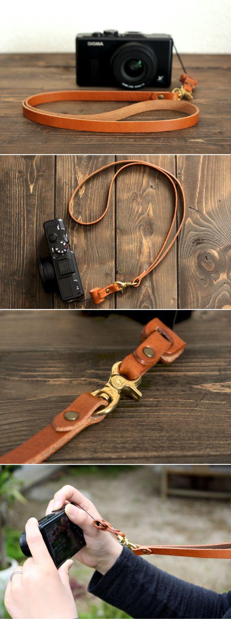 leather camera strap | Duram Factory