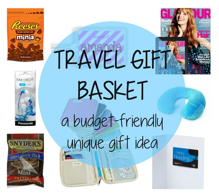 travel gift basket gift ideas