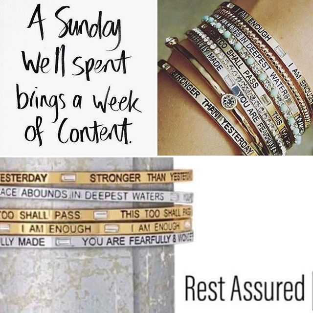 LOVING the new Rest Assured bracelets (set of five) from our Holiday line. Wouldn't these make the perfect gift?