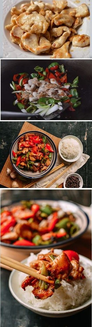 Chicken with Black Bean Sauce, recipe by the Woks of Life
