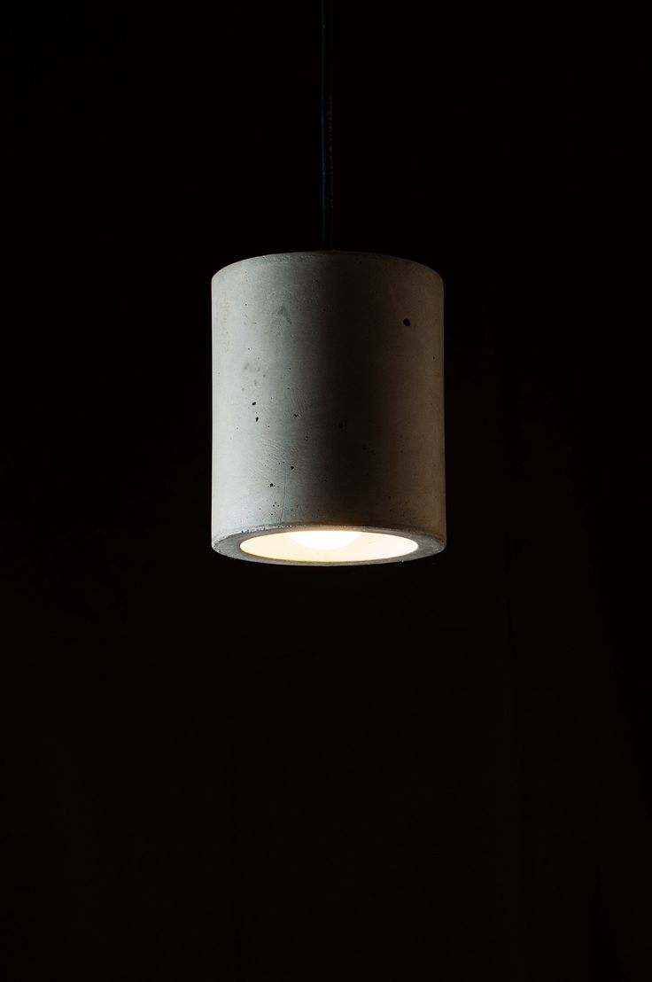 874 best concrete stuff images on pinterest cement concrete cylindrical ceiling lamp made of concrete by minimalmood arubaitofo Gallery