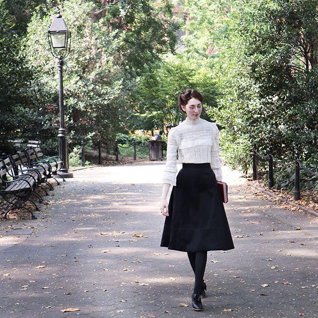 Bernadette Banner Bernadettebanner Instagram Photos And Videos Victorian Inspired Fashion Edwardian Fashion Modern Historical Dresses