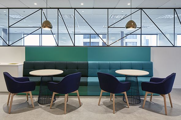 Perpetual Commercial Office Fitout Kitchen/Break Out Room