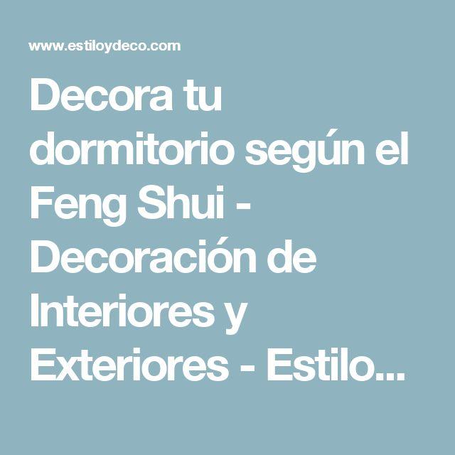 Decora tu dormitorio según el Feng Shui - Decoración de Interiores y Exteriores - EstiloyDeco