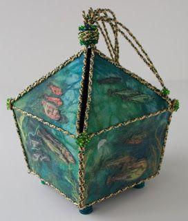 textile box sea theme