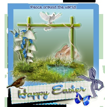 Easter: Free clipart for webpage