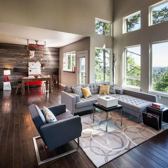 25+ ide terbaik Wohnzimmer einrichten ideen di Pinterest - wohnzimmer mit offener küche gestalten