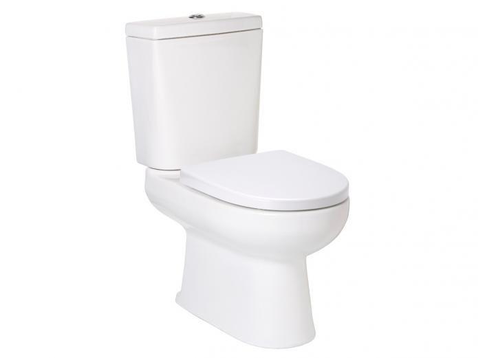 Porcher Cygnet Square Closed Coupled Toilet $339