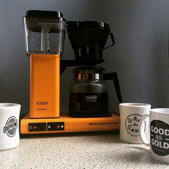 Hello New Coffee Maker #moccamaster #goodasgoldshop #coffeesupreme  @coffee_supreme / @goodasgoldshop