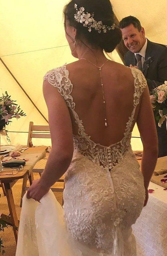 Perlenkette, Swarovski Perlenkette, Silber, Rotgold, Gold   – Hochzeitsschmuck