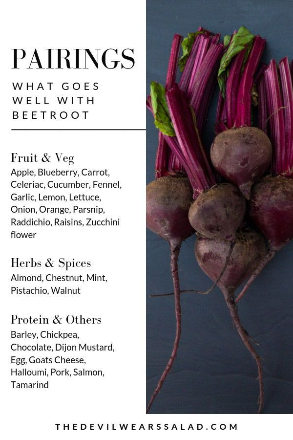 What Goes Well With Beetroot In 2020 With Images Beetroot