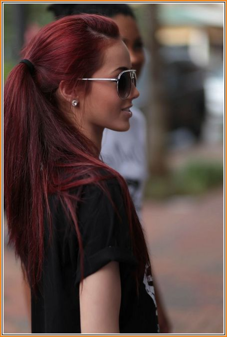 red brown hair - Google Search