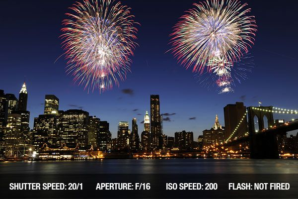 Fireworks Photography Tips and Techniques