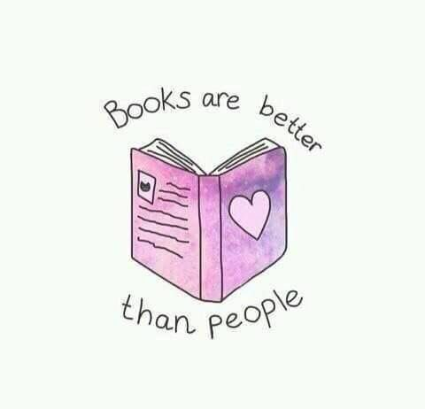 Risultati immagini per books are better than people