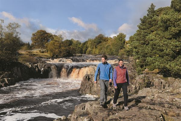 Low Force in the Durham Dales, a series of breathtaking waterfalls...