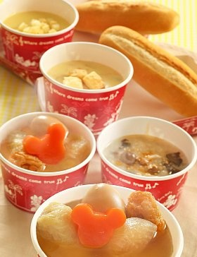 Japanese ODEN Hot Pot at the Tokyo Disneyland! (Daikon Radish, Egg, Micky Shaped Konjac...   )|TDL のおでん