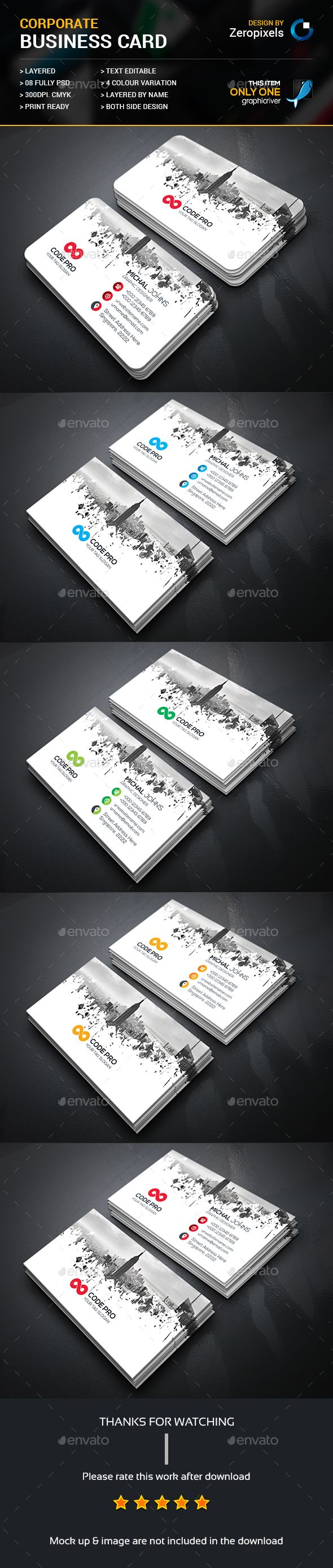 25 best ideas about business card design templates on pinterest