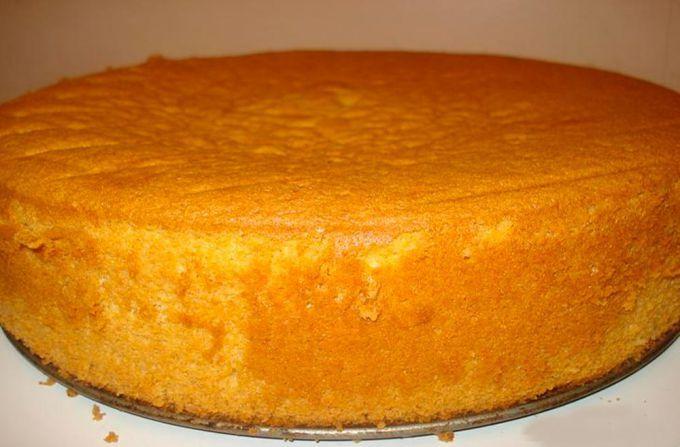 Как приготовить пышный бисквит на кефире