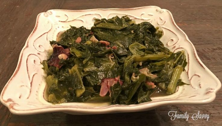 Make these yummy Southern turnip greens in less time than it takes to drive to Cracker Barrel. Instant Pot Turnip Greens~Family Savvy
