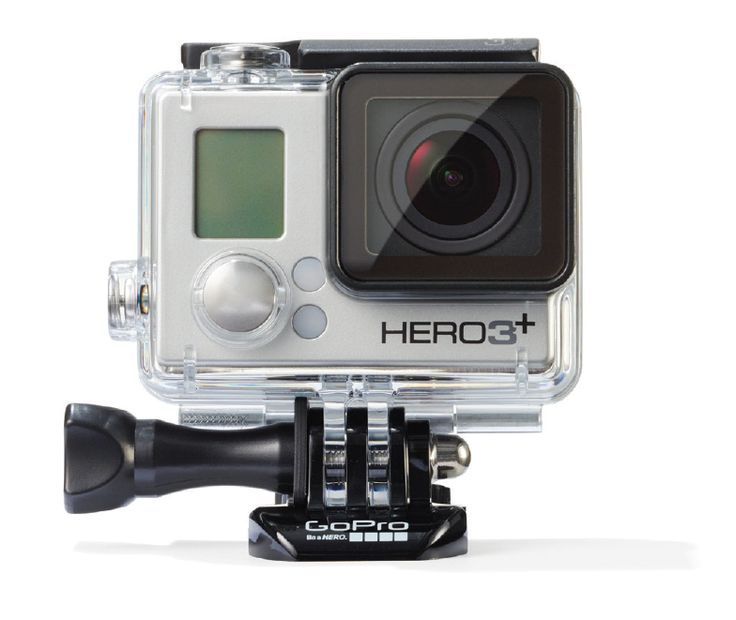 GoPro HD Hero3+, BEST BUY / The Silver Edition is 2X more powerful - & 15% lighter & smaller in size - than previous models. #STCLuxeGuide #Toronto #Photography #Holiday