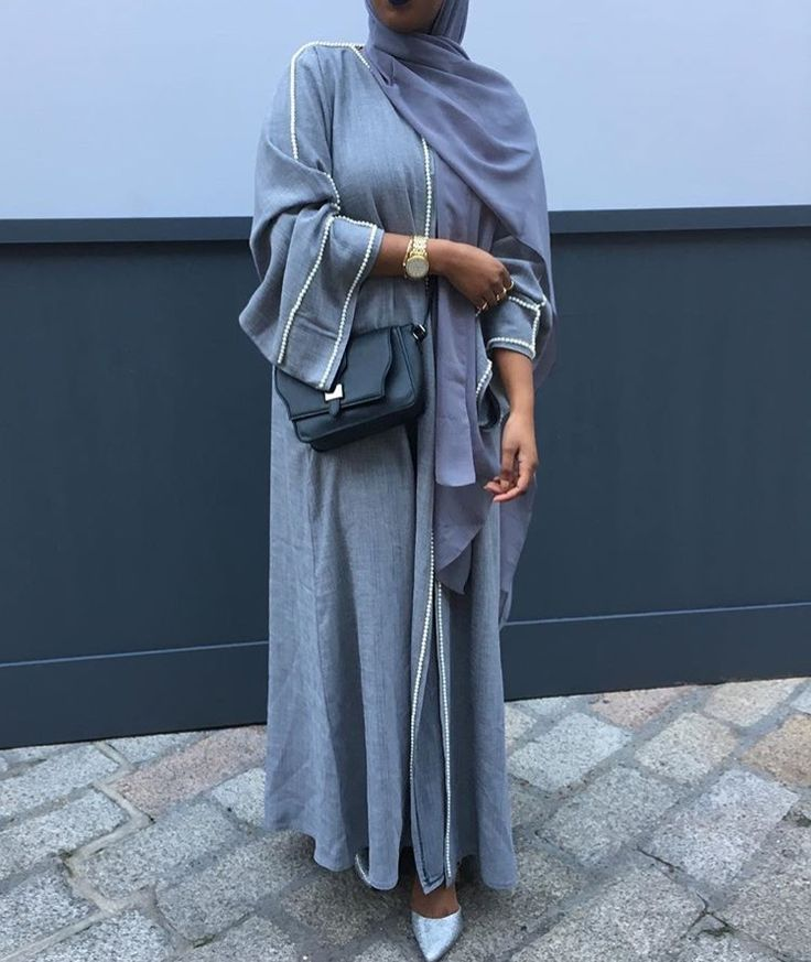 IG: The_ModestDoll || IG: BeautiifulinBlack || Abaya Fashion ||