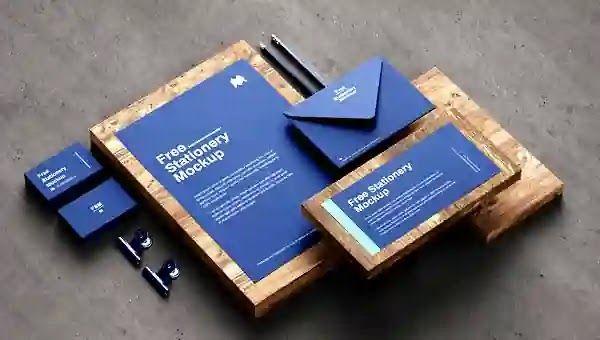 موك اب هوية شركة متكامل Branding Identity Stationary Mockup In 2021 Stationary Mockup Branding Brand Identity