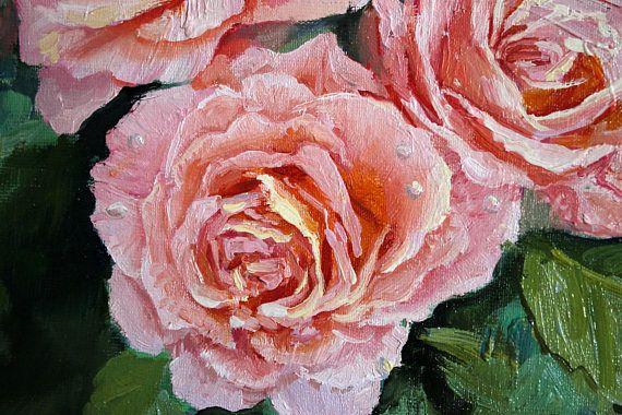Rose oil painting Soft pink rose flowers Oil painting picture  #Oil  #originaloil  #flower #painting  #art #roseart  #flowerart  #floralpainting  #peach #picture #softpink  #giftfor  #oilpainting  #canvas  #giftforwomen  #rose #rosepainting