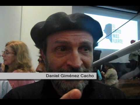 Entrevista a Daniel Giménez Cacho invitando a participar en el colectivo...