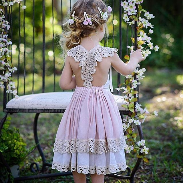 #girlsdress by: #DollcakeVintage
