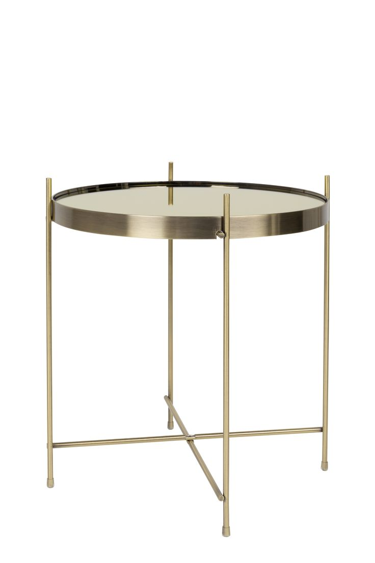Cupid gold side table