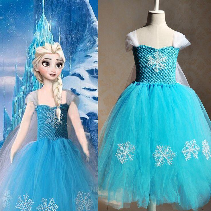 >> Click to Buy << 2016 china aliexpress wholesale price  frozon cartoon  ash pricess blue custom dress #Affiliate