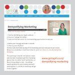 "Podcast: ""Demystifying Marketing"" by Maple Marketing"