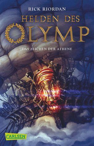 Das Zeichen der Athene / Helden des Olymp Bd.3 - Riordan, Rick Erscheint:2.10.15