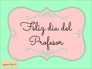 Tarjetas vintage para el Dia del Profesor