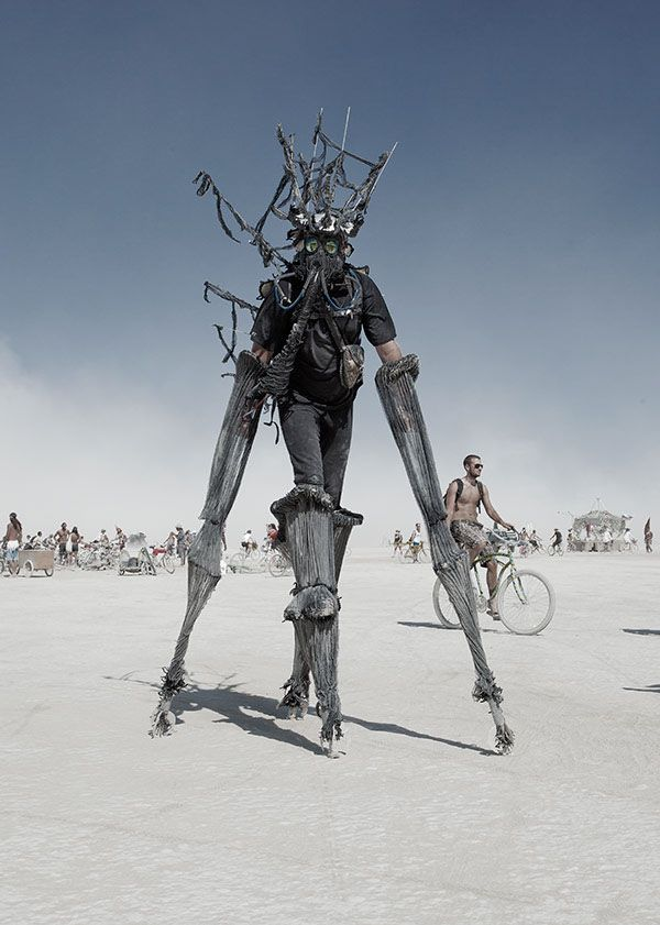 Best Burning Man Festival Images On Pinterest Places To - Thought provoking burning man sculpture shows inner children trapped inside adult bodies