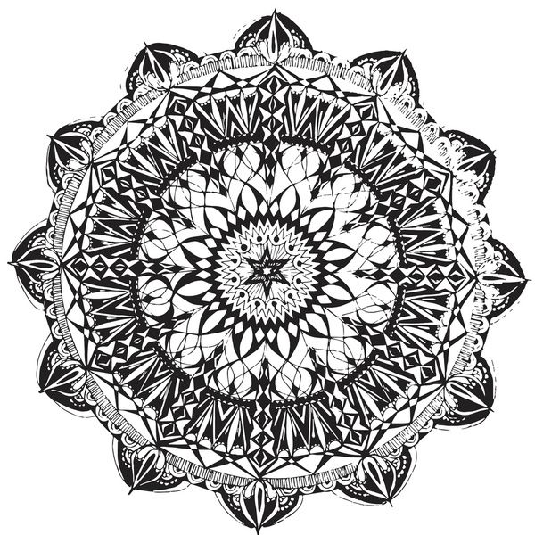 Mandala 1 Art Print by Shelley Swain | Society6