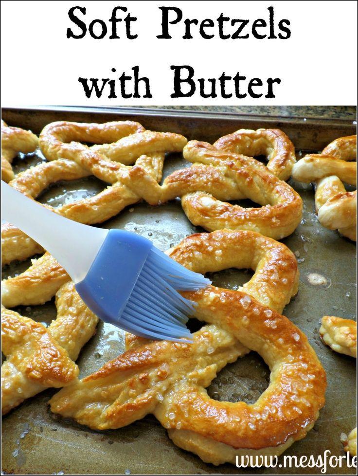 Soft Pretzels Recipe - Food Fun Friday | Mess For Less