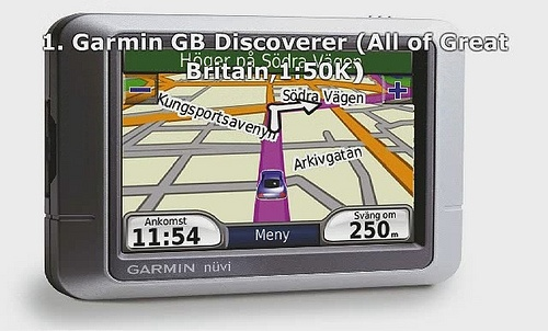 Top 10 best GPS Navigation Maps UK