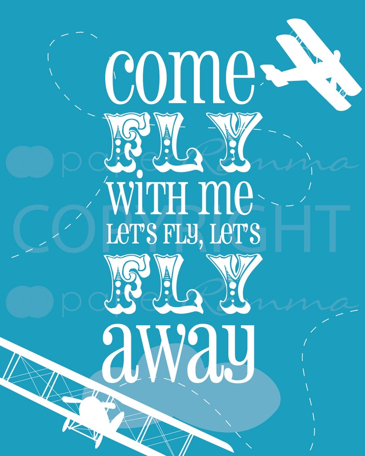 Airplane and Train Art Print Set - 8x10 - Archival Giclee Art Prints for Nursery / Child's Room / Playroom - Customize colors to your room.
