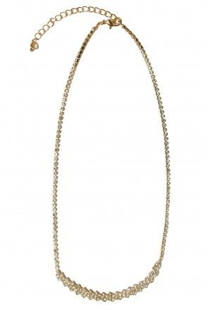 Clarissa Gold and Diamond Necklace