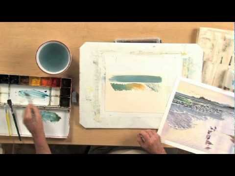 Painting the Sea in Watercolor by Grant Fuller