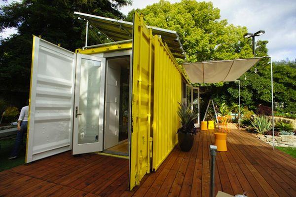 Des maisons fabriquées en France avec des containers recyclés France