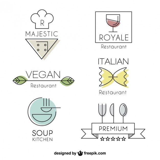 Populaire Best 25+ Restaurant logos ideas on Pinterest | Restaurant identity  KL15