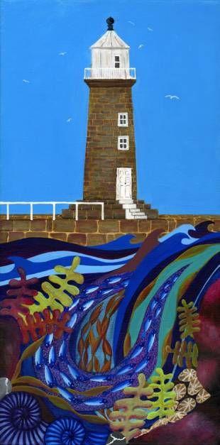 East Pier Whitby - www.bridgetwilkinson.co.uk