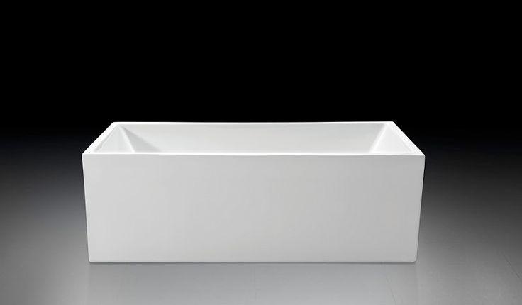 Badekar - Quadro slim 150 - http://www.spacenteret.dk/product/badekar-quadro-slim-150-1183/