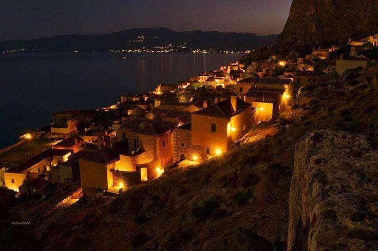 GREECE CHANNEL   Monemvasia,  Peloponnese